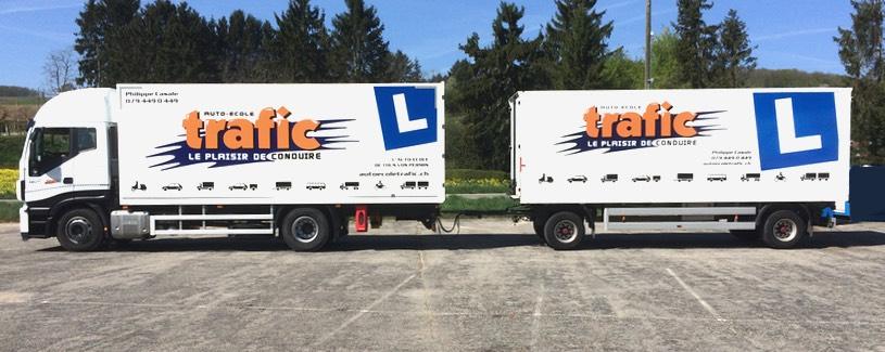 Cours de pratique camion Yverdon